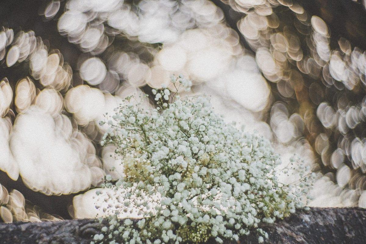 boho bouquet at Melbourne wedding