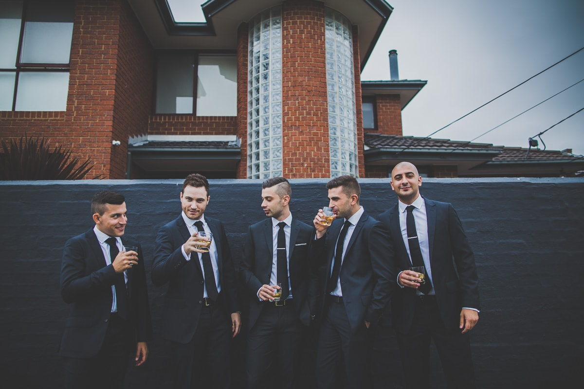 groomsmen - greek wedding photos