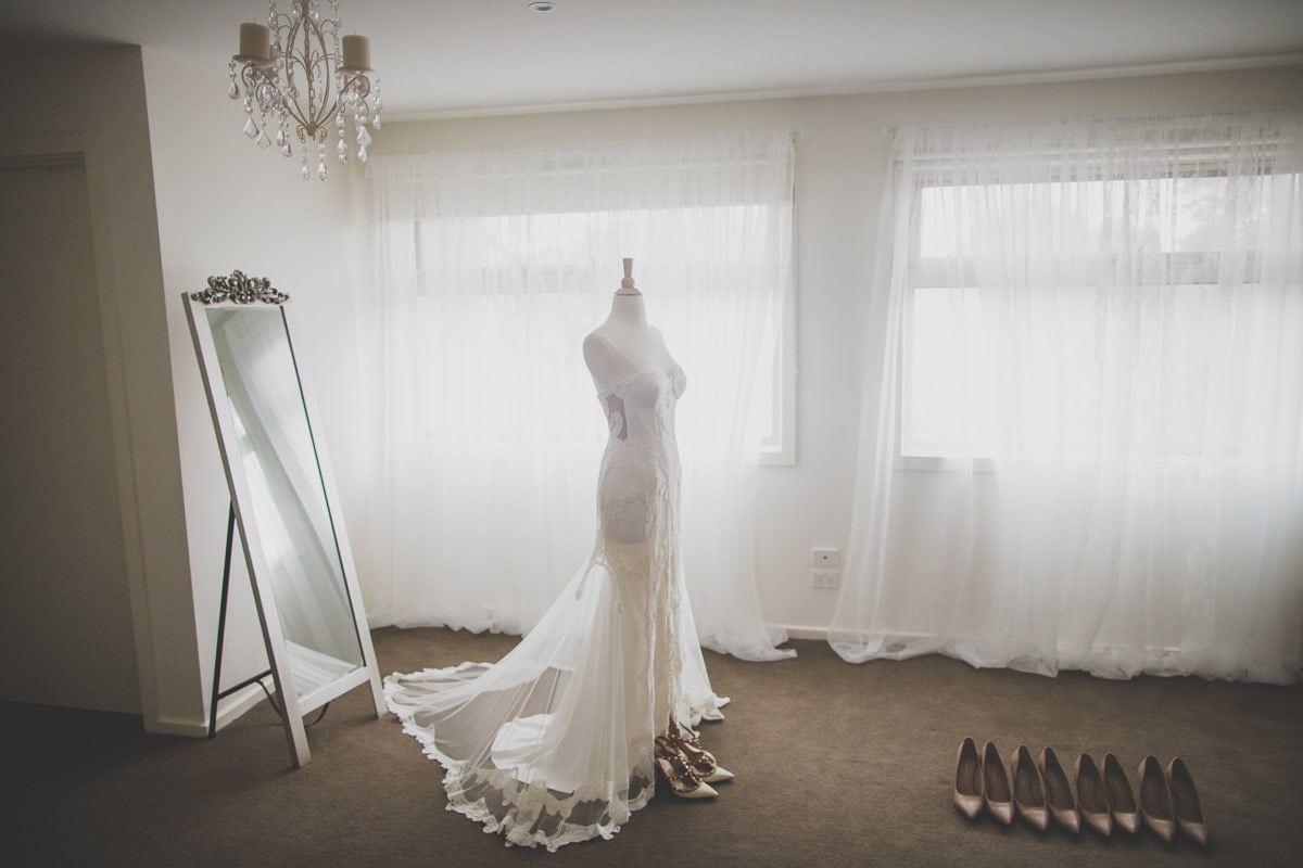 jane hill wedding dress - photography of luxury wedding in melbourne