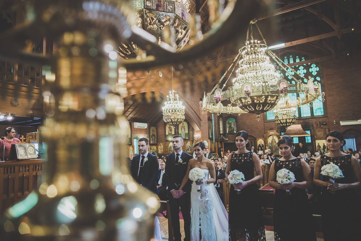 greek orthodox church - wedding photographer