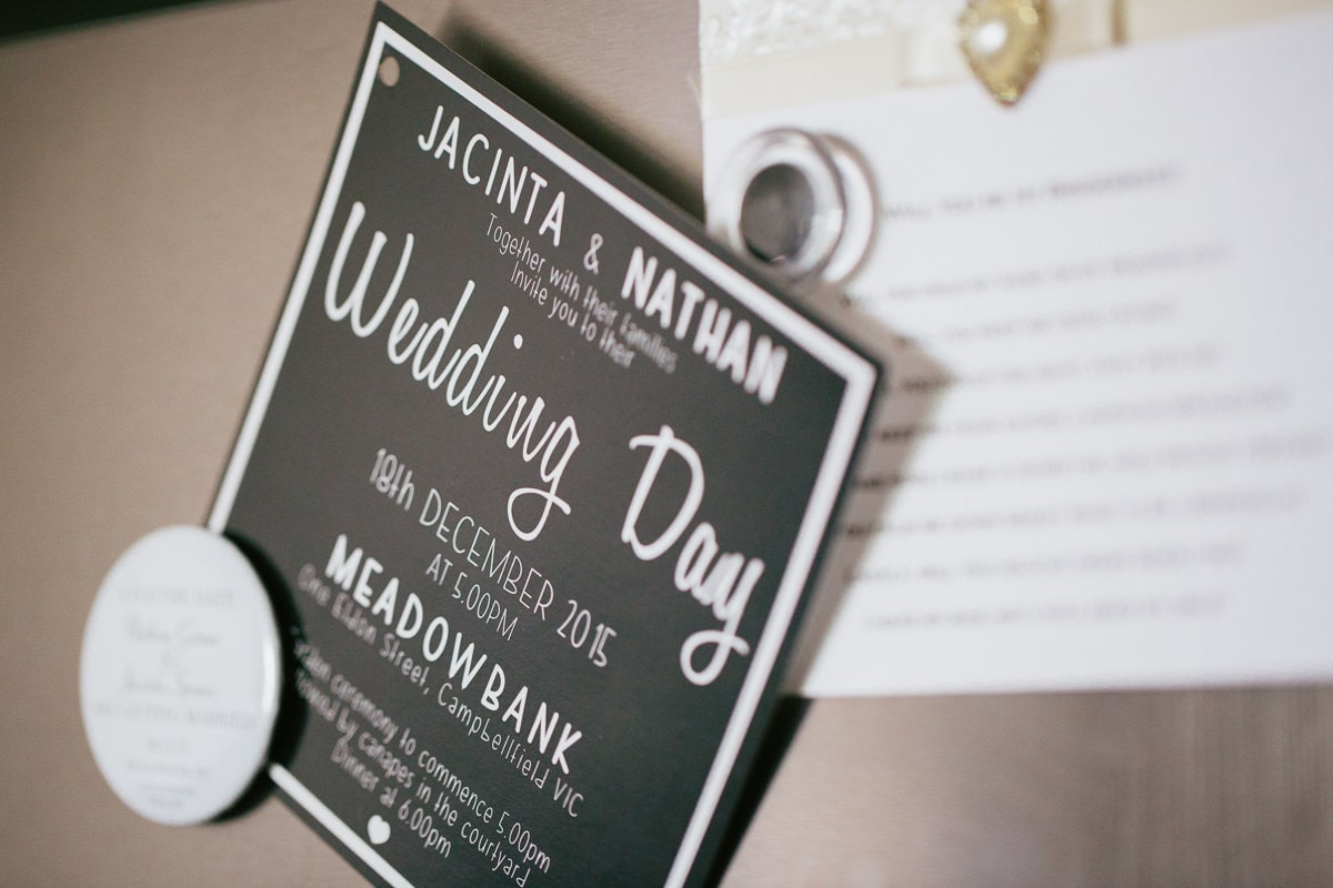 jacinta and natan - wedding day