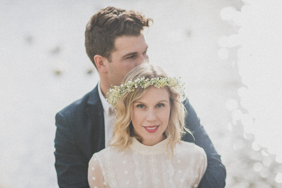 boho wedding melbourne - flowercrown