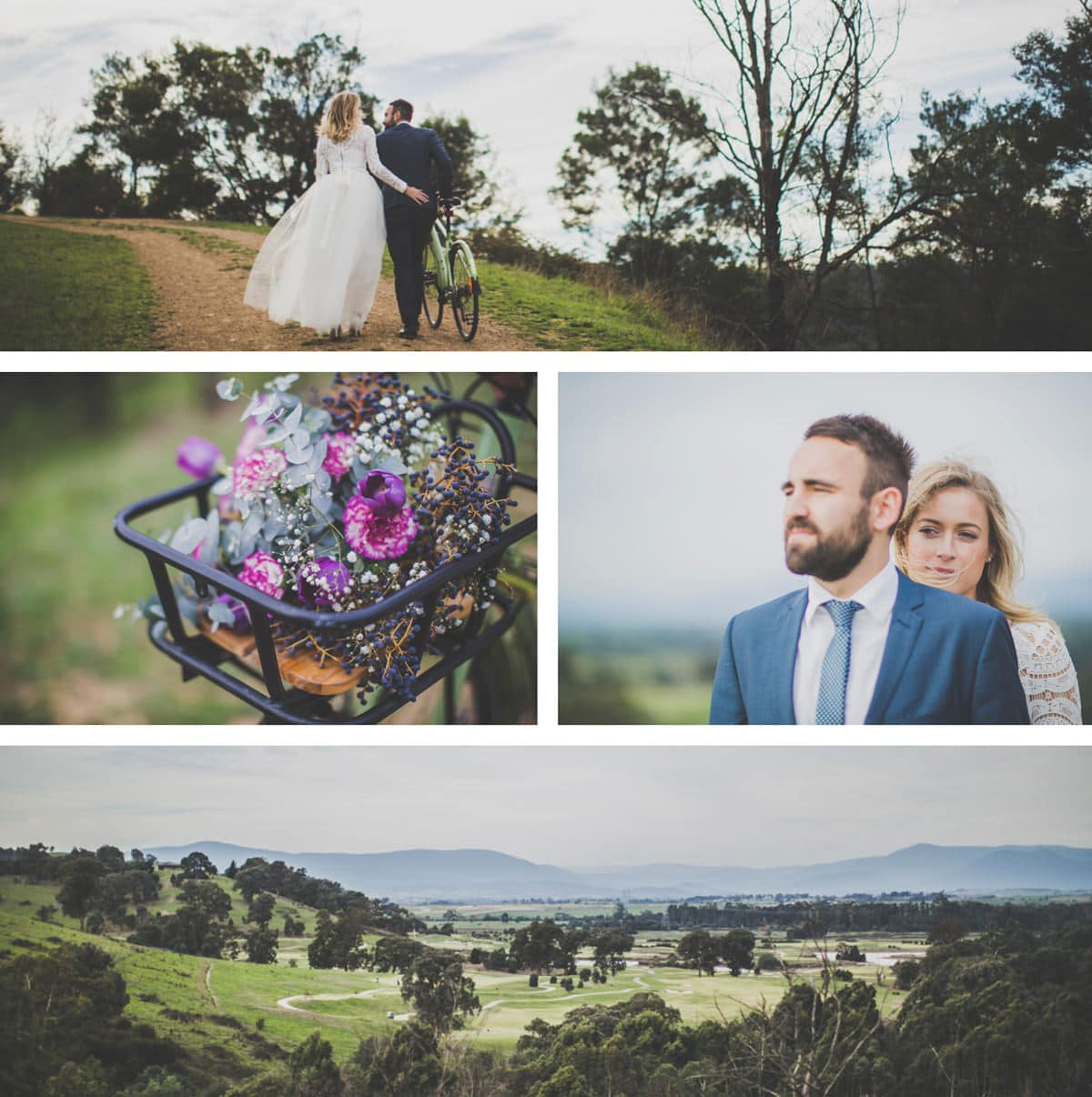 Yarra Valley wedding photography - Melbourne photographer country wedding - rustic and pure