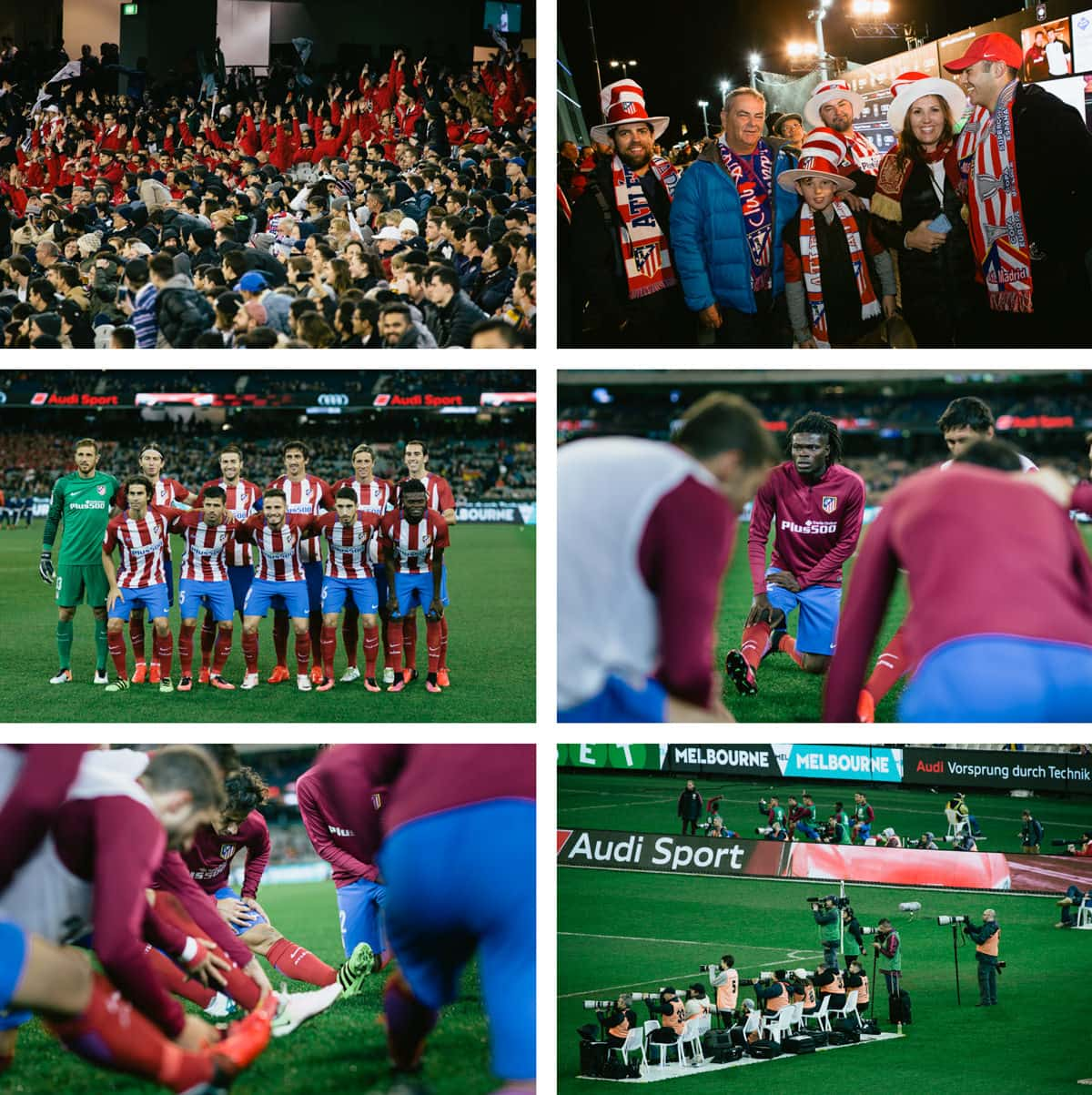 athletico madrid pictures in melbourne