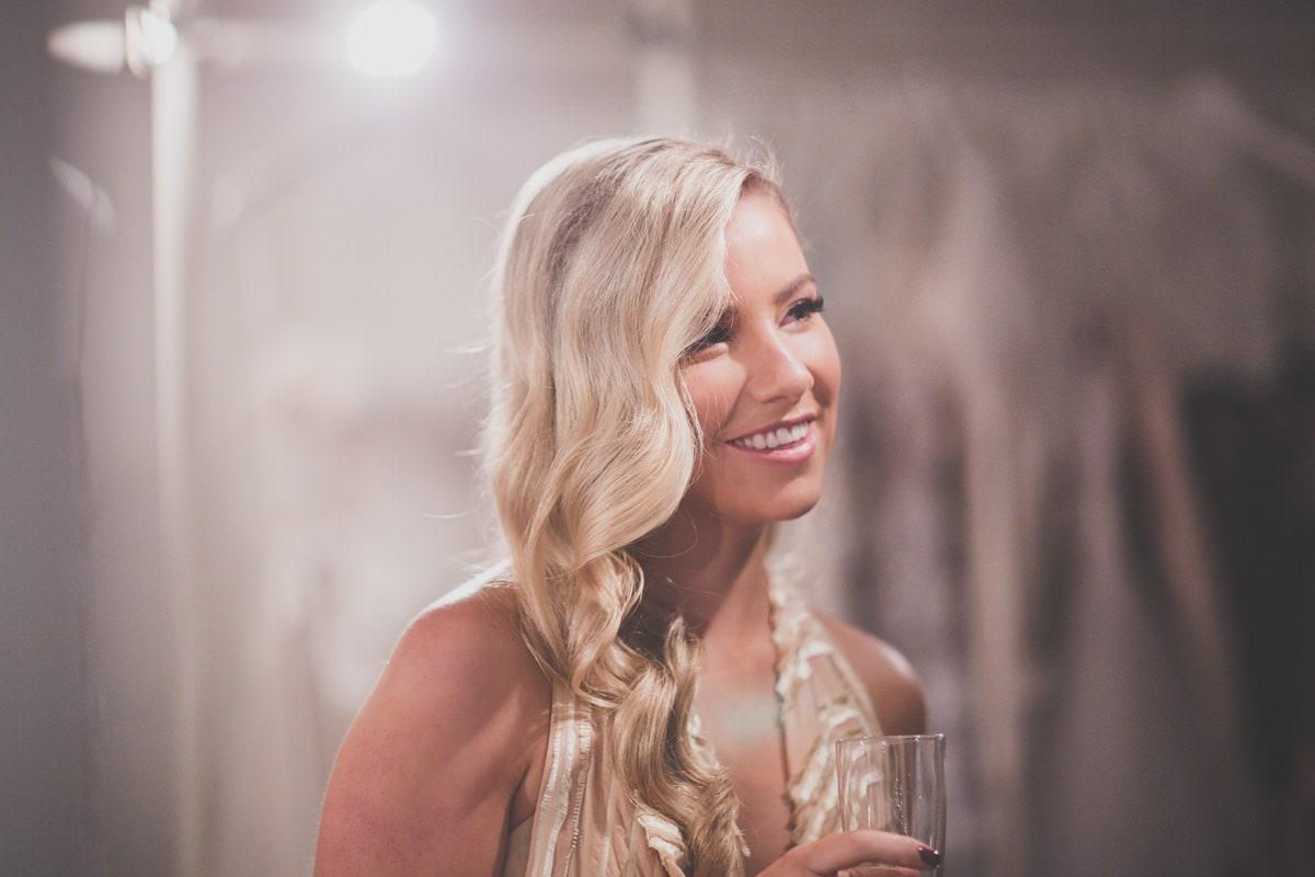 brides maid - blonde hair wedding - melbourne photography