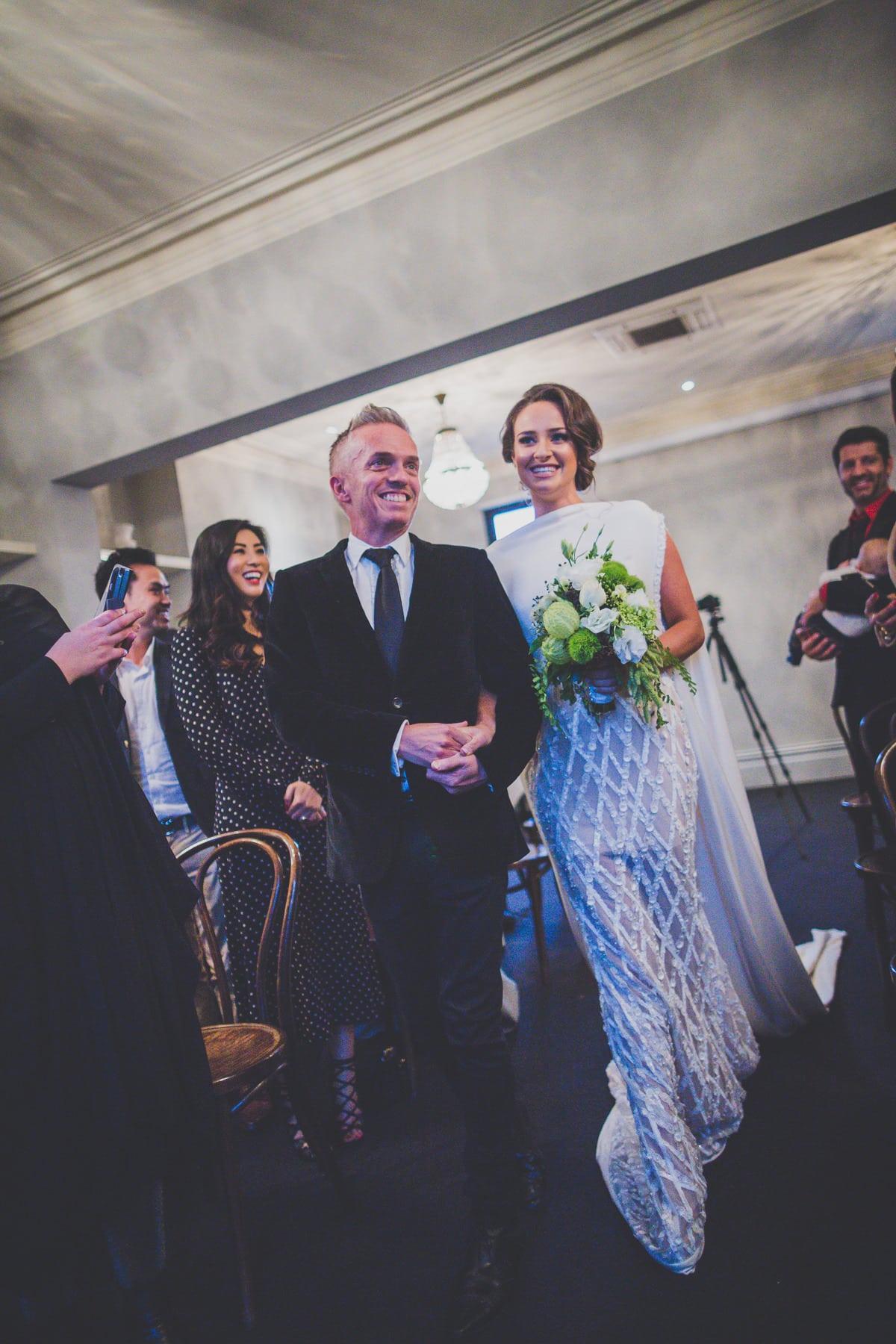 the fake wedding :-)