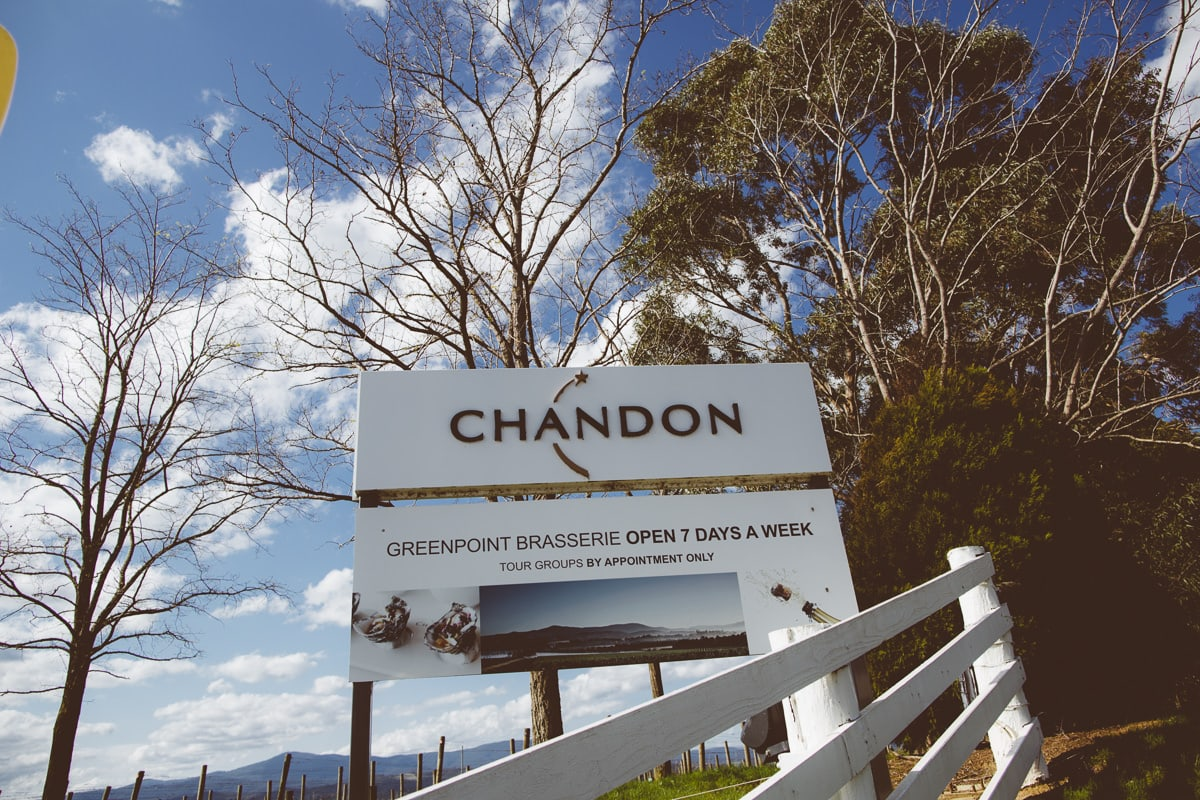 event photos at chandon in the yarra valley