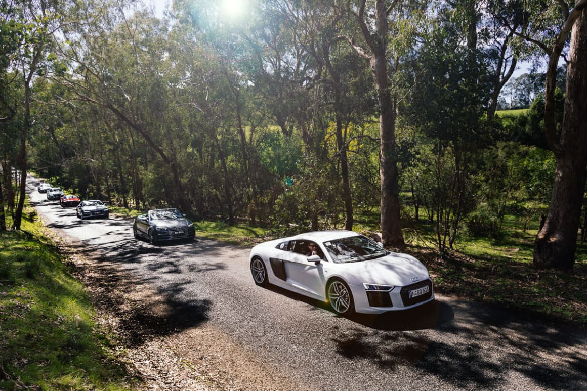 luxury brands - event photography - driveday to the yarra valley - automotive event photos in Melbourne