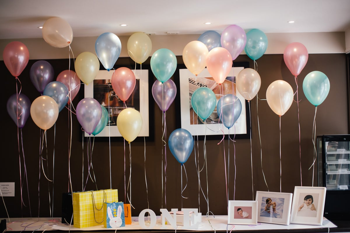 baloons and decoartion ideas for kids birthday party - how to photograph