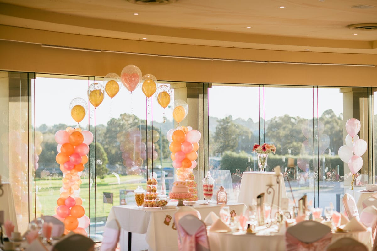 birthday party decoration in melbourne - melbourne photographer