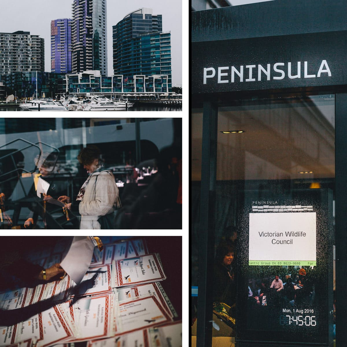 showtime event - melbourne photographer captures docklands conference