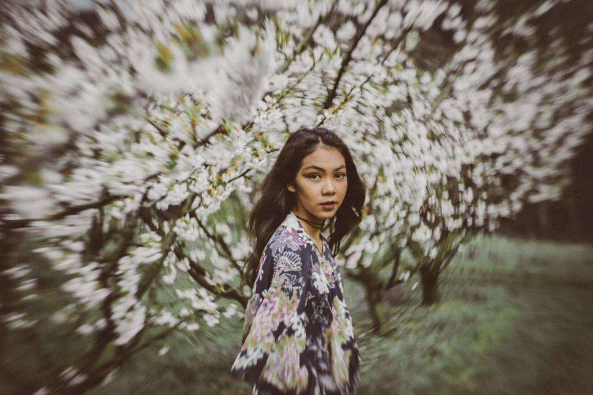 fine art fashion and wedding photography - styled shoot - lomography art lenses - petzval