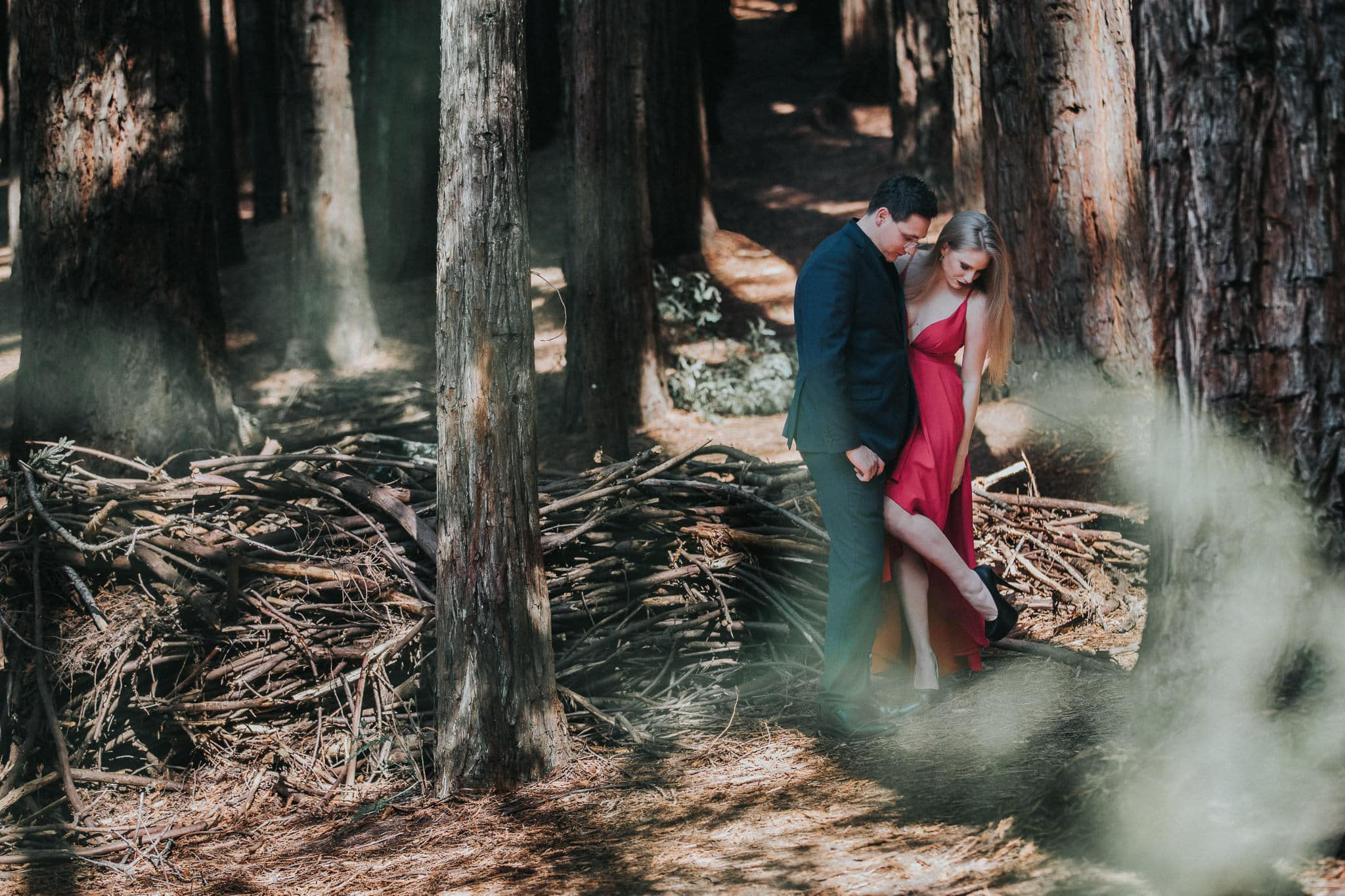 cretive couples photoshoot - engagement photography in Melbourne