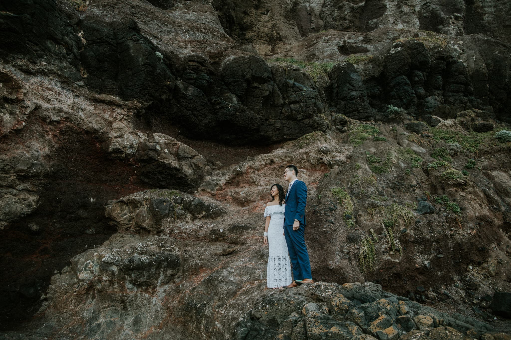 cliff top weddings