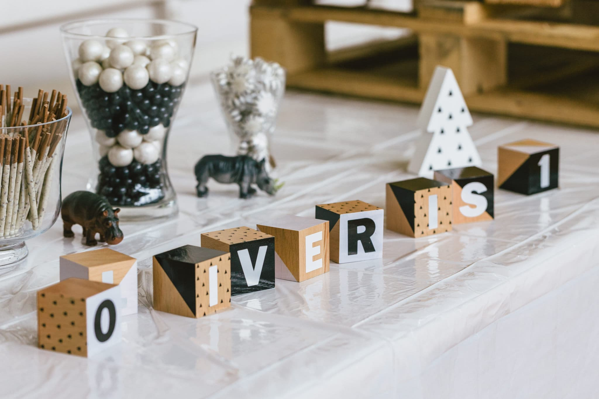Name blocks to decorate birthday party in melbourne