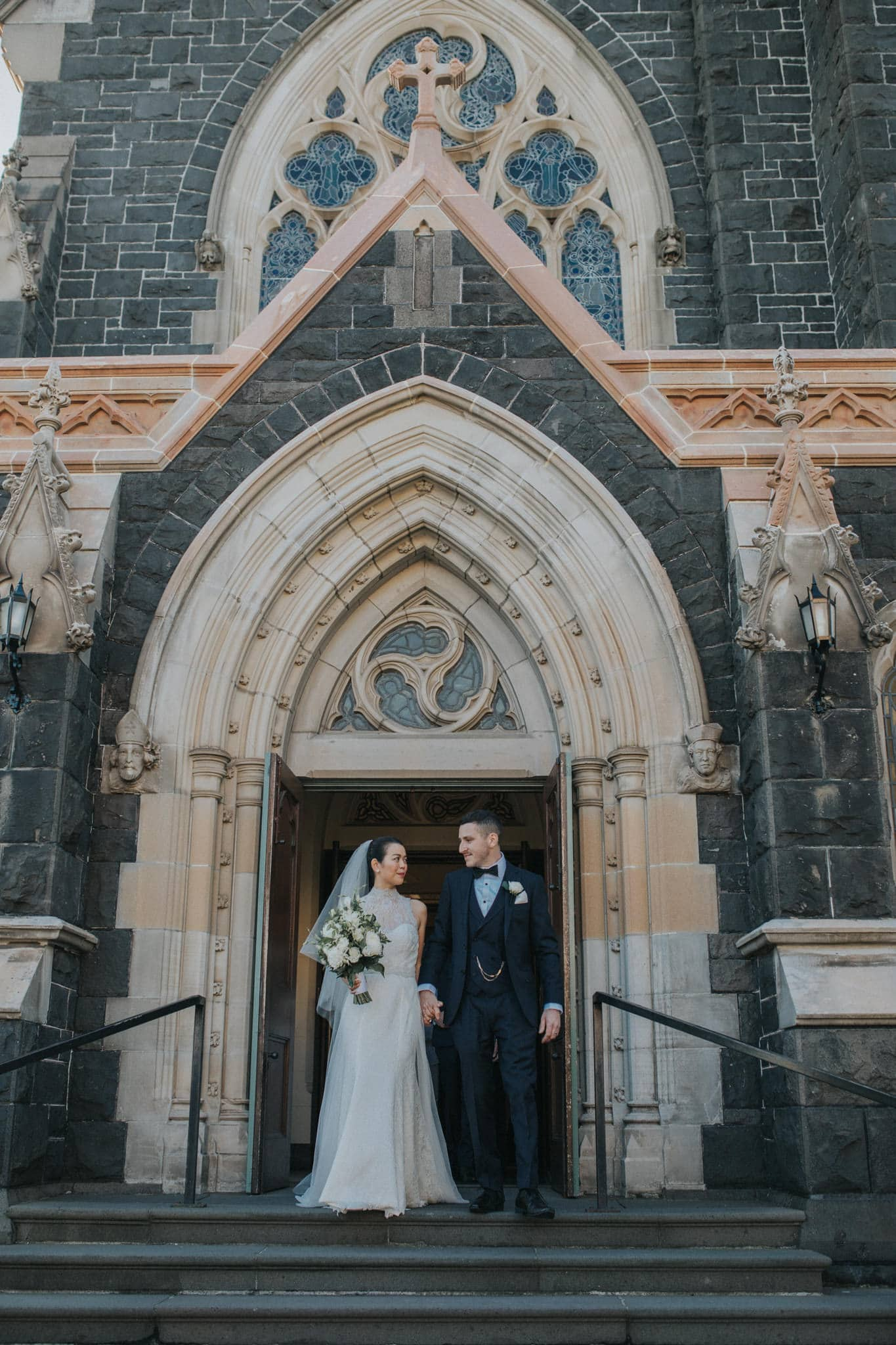 Wedding photos at Immaculate Conception Catholic Church - Hawthorn