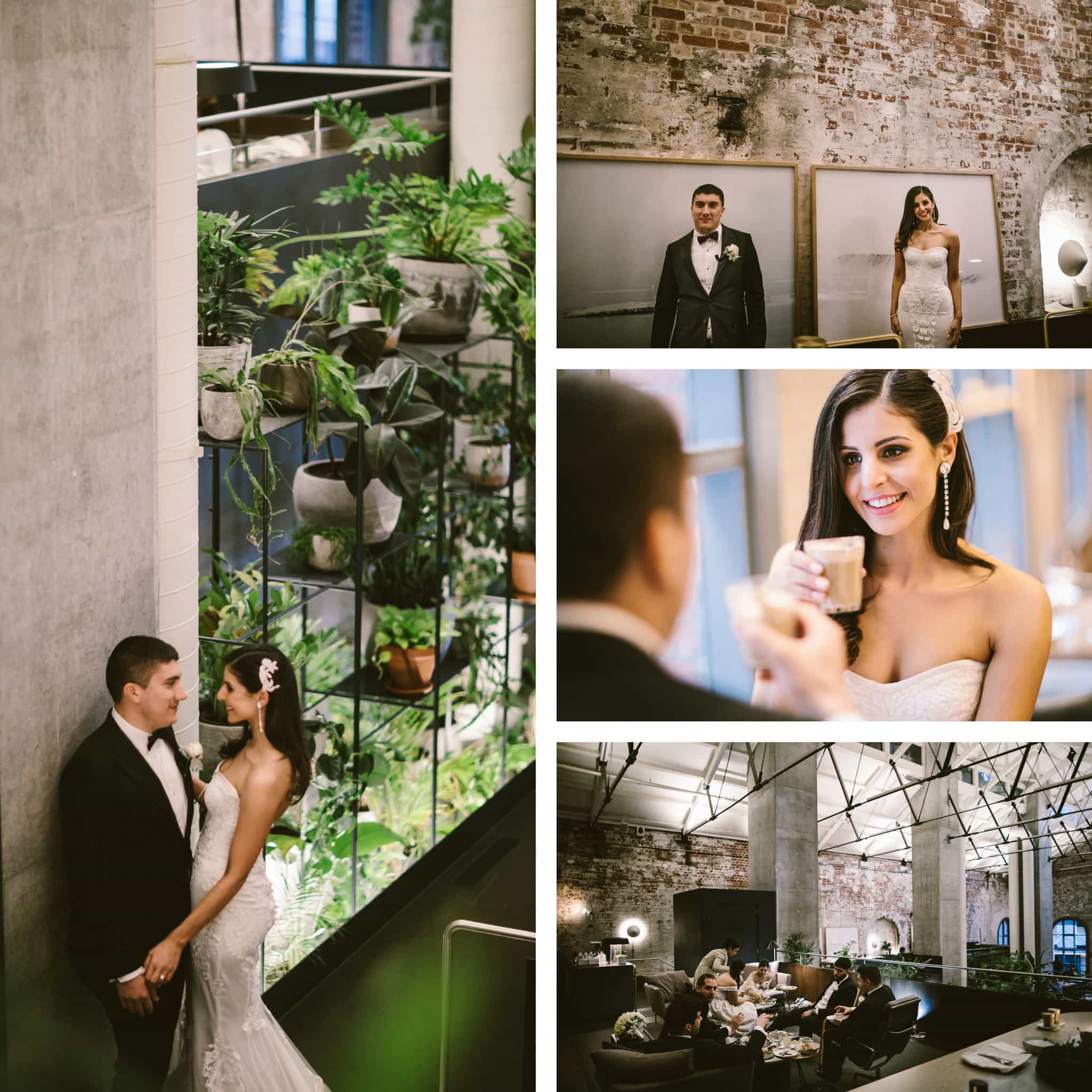 melbourne cbd wedding photographer - best candid shots in cafe or restaurant - higher ground melbourne photo ideas