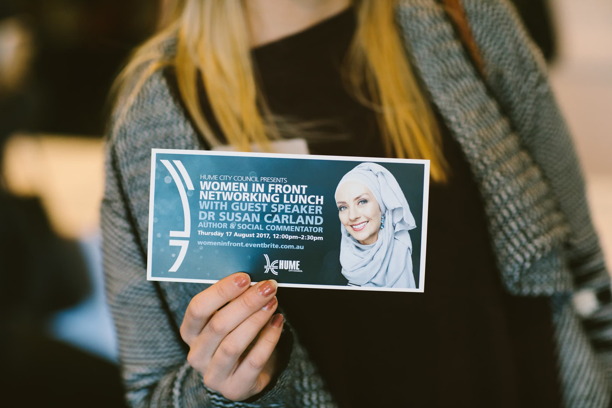 Women in Front - Dr Susan Carland - Ticket