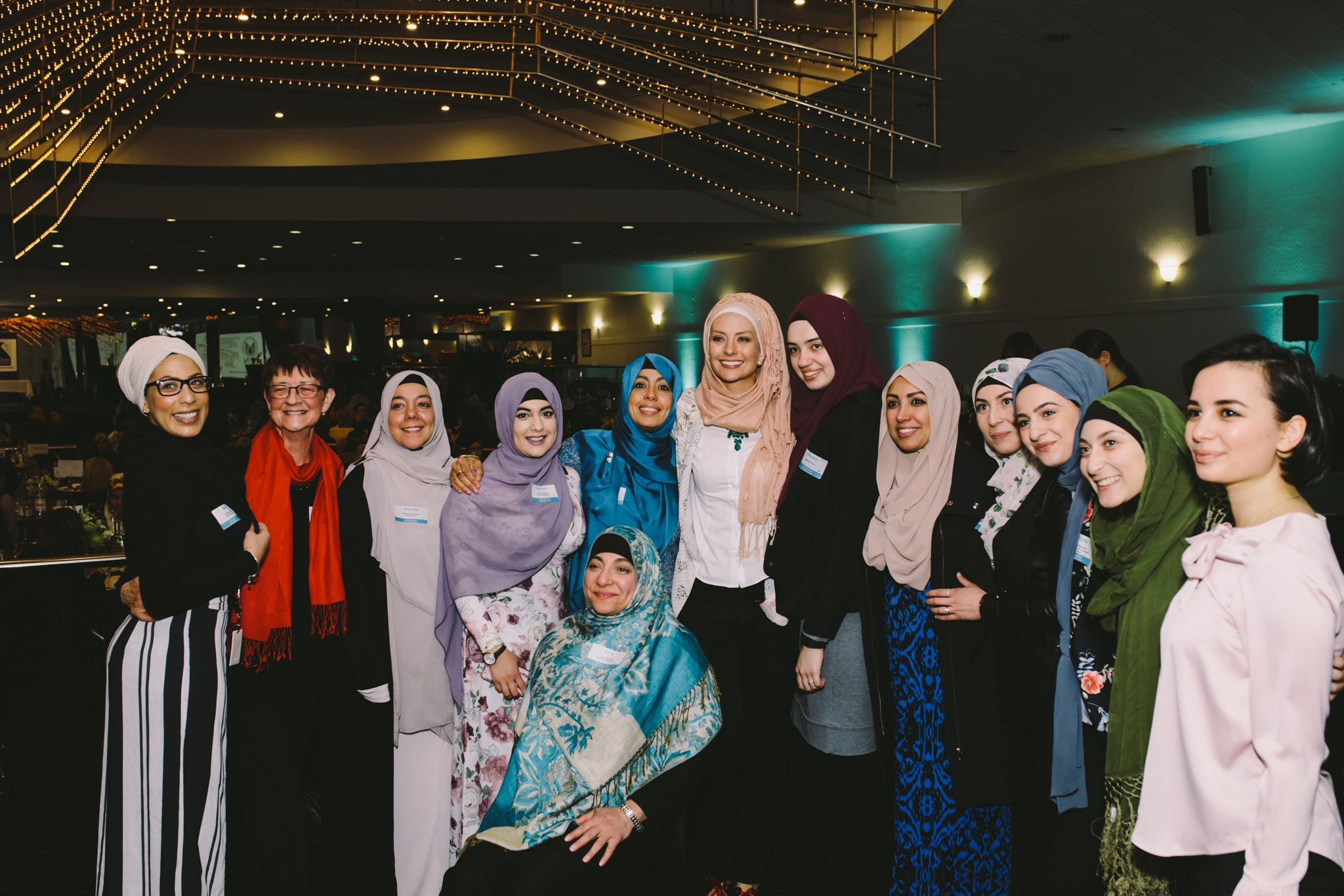 group photo with Dr. Susan Carland