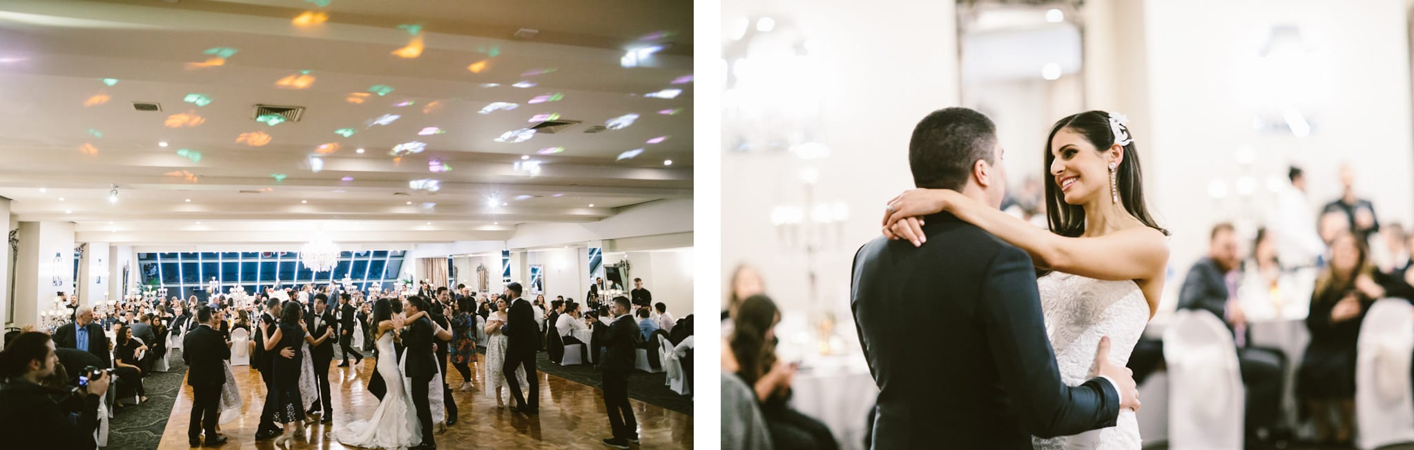 wedding dance at the lincoln of toorak in melbourne - party and event photographer