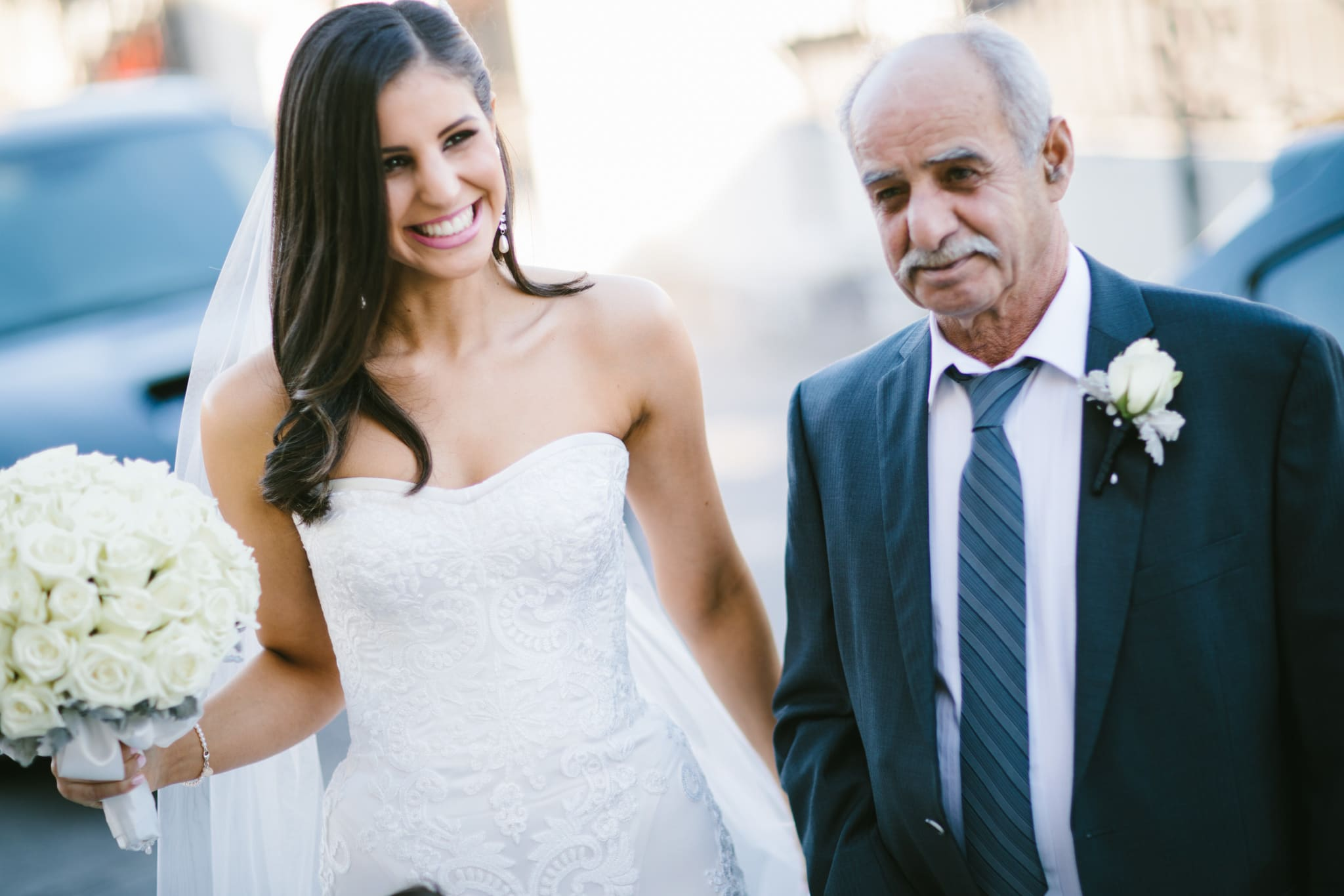 dad with bride