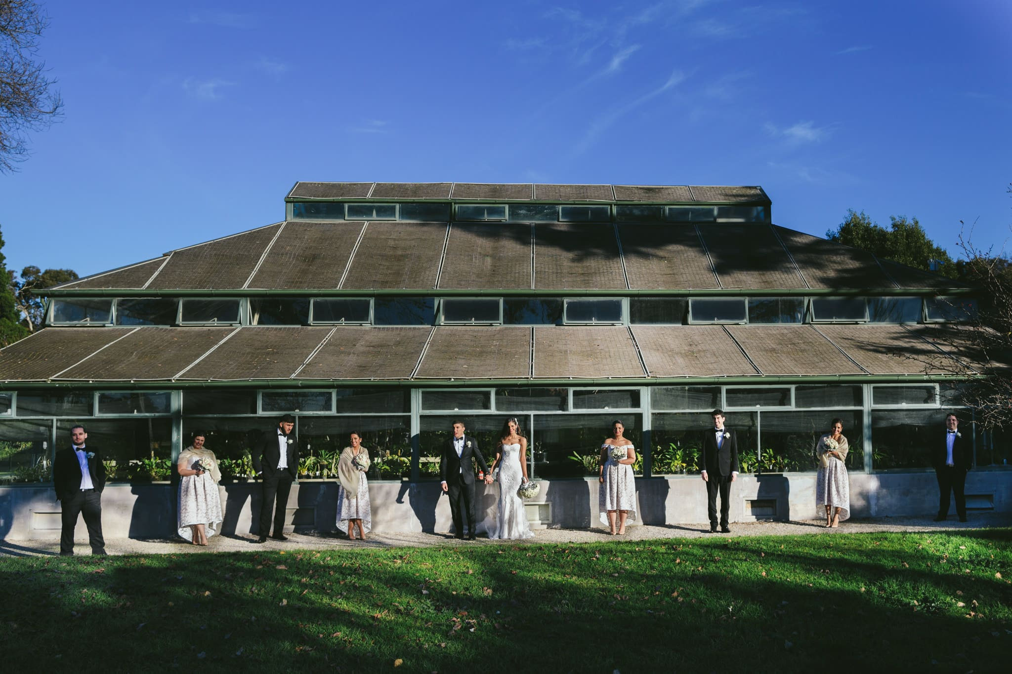 bridal team at glasshouse at melbourne