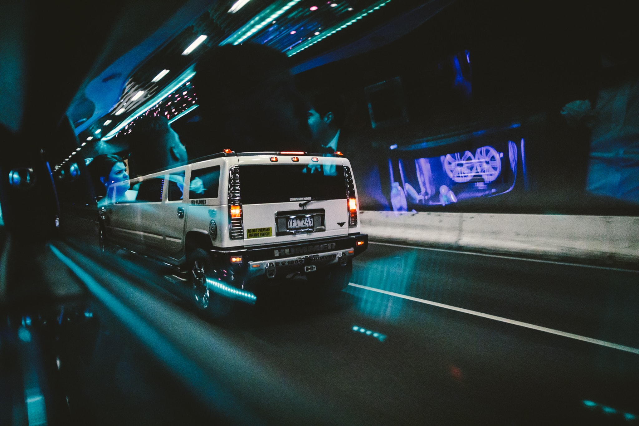 hummer limo in melbourne - wedding photographer