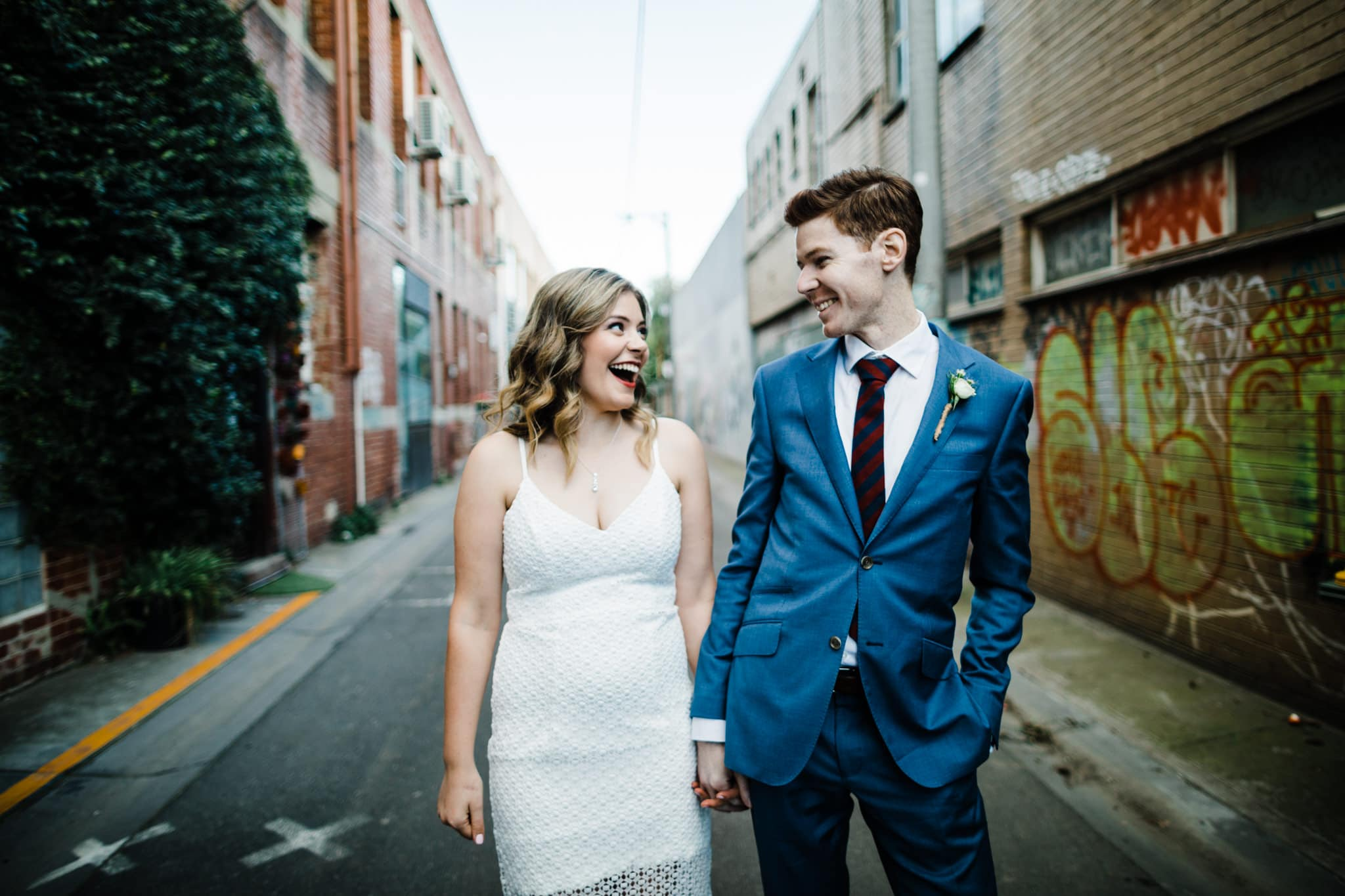 fun wedding photographer makes you feel relaxed in melbourne