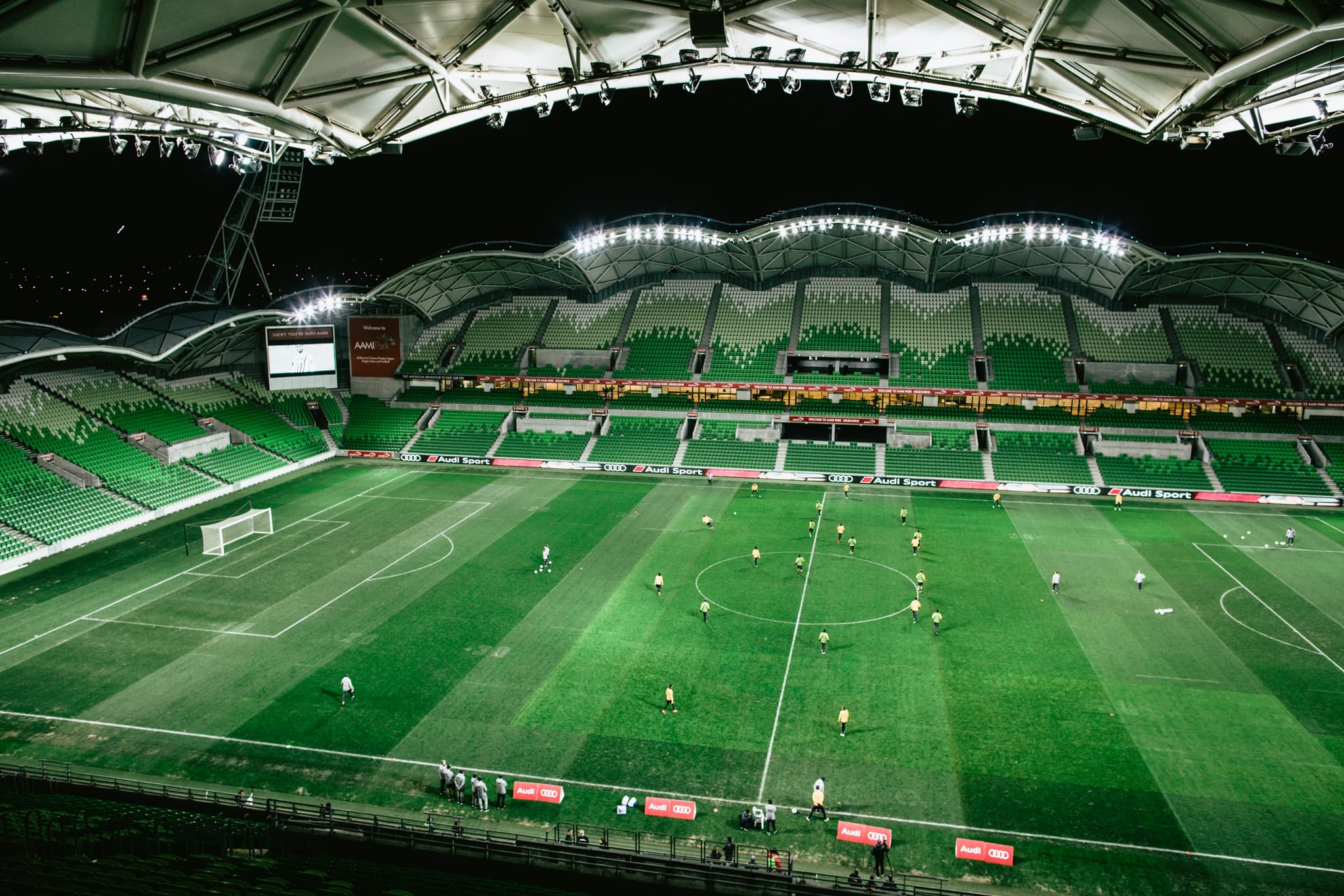 aami park stadium - photographer captures events and atmosphere