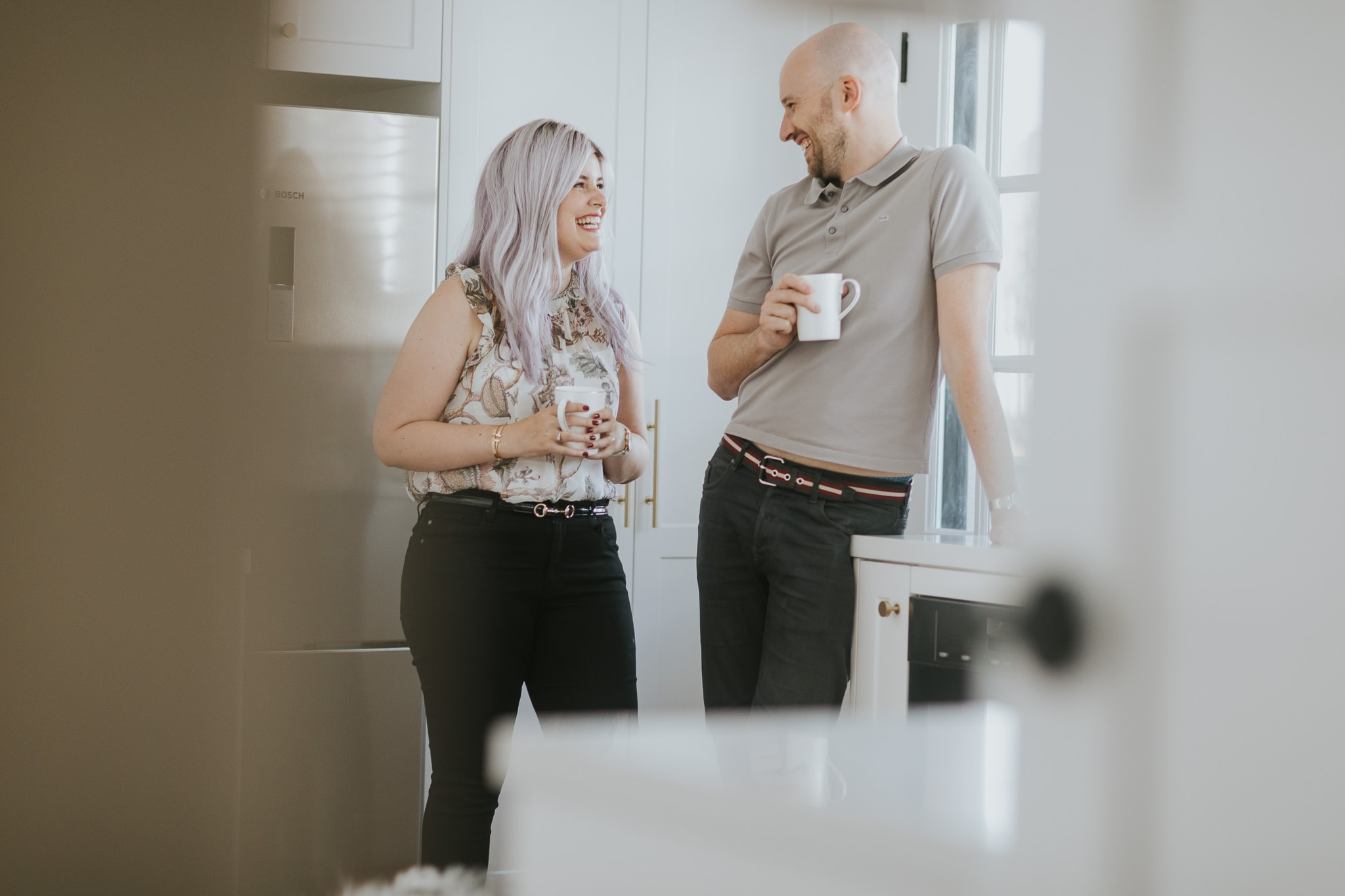 couples photography - have a cup of coffee and have fun