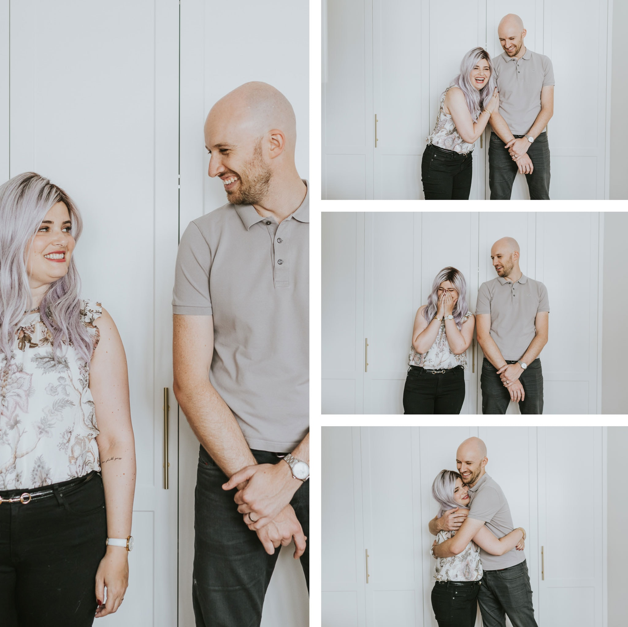 fun and candid photo portraits - rad and quirky photos for young couples