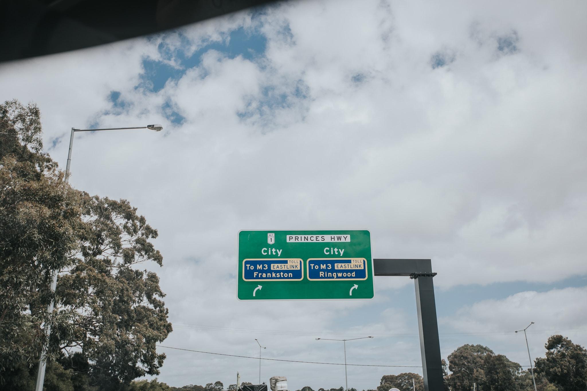Melbourne City sign