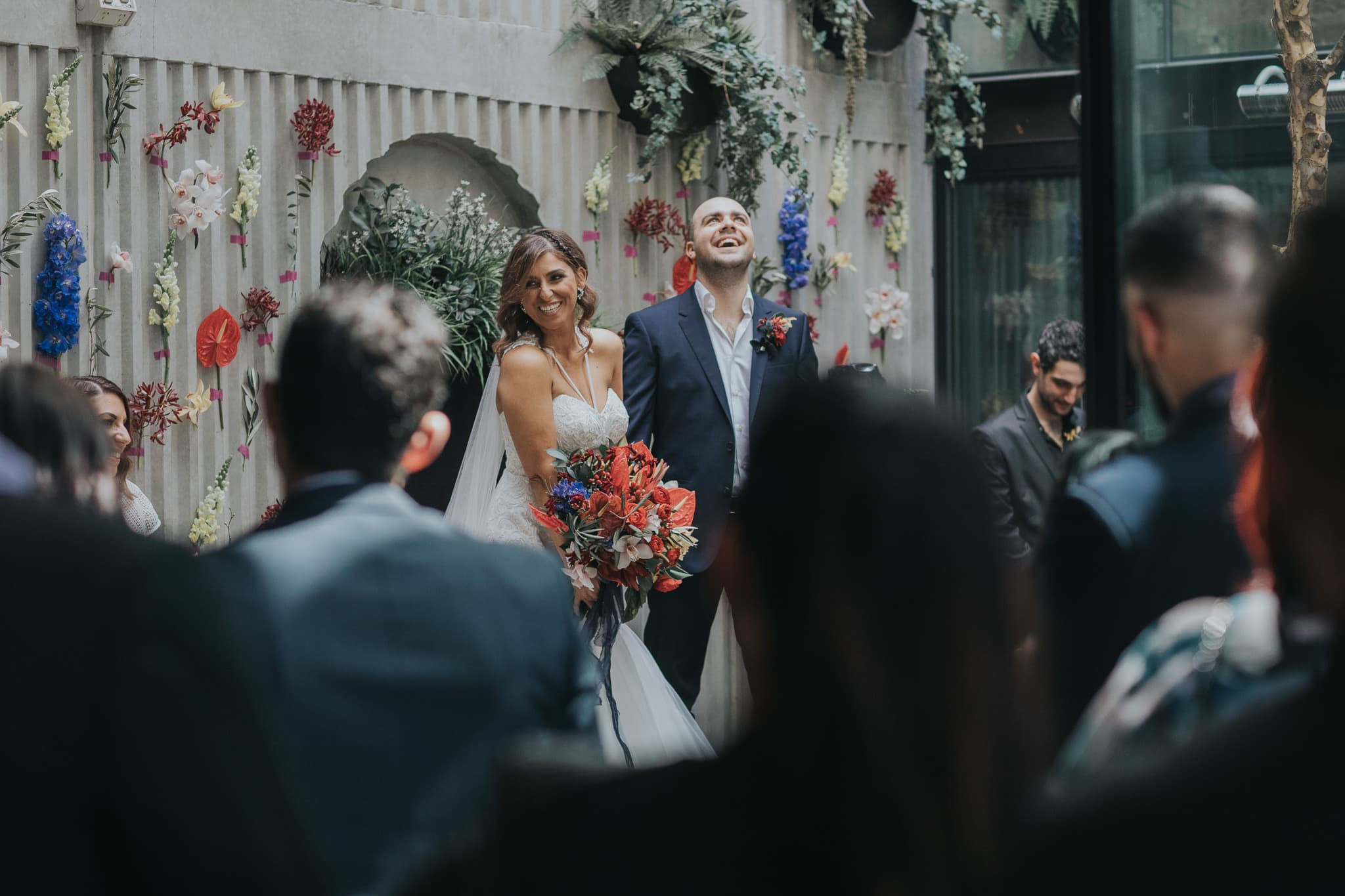 love and laughter at melbourne wedding in prahran