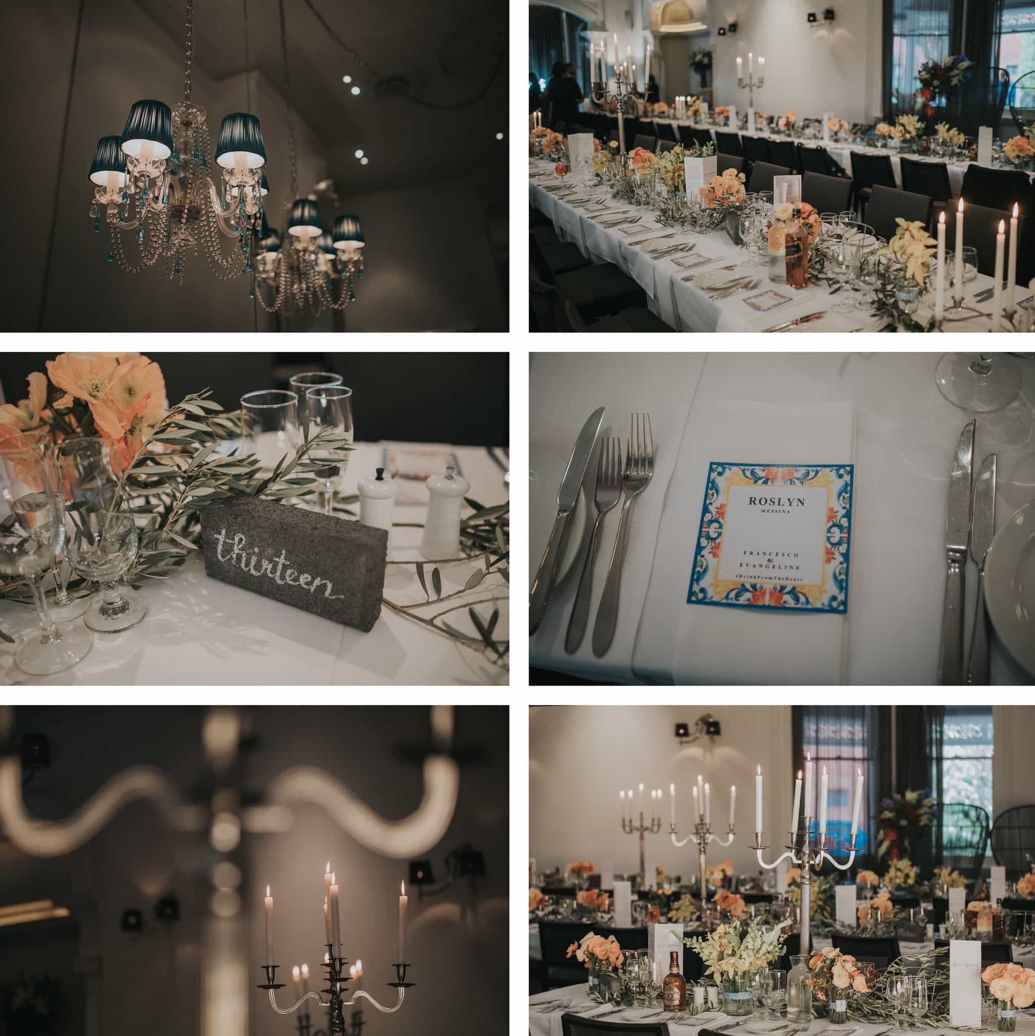 Wedding deco at Quat Quatta - Wedding function venue in Melbourne - Photography by freshphotography
