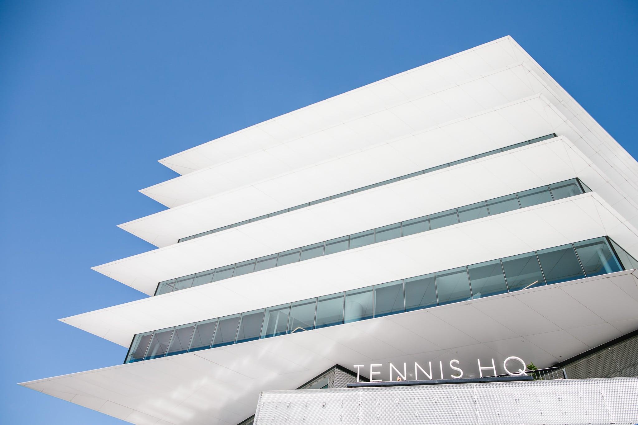architecture - tennis HQ