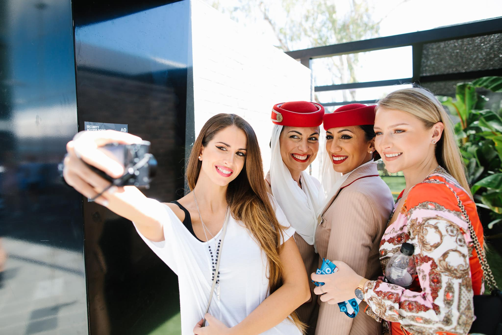 lifestyle photography selfie time - girls taking selfies