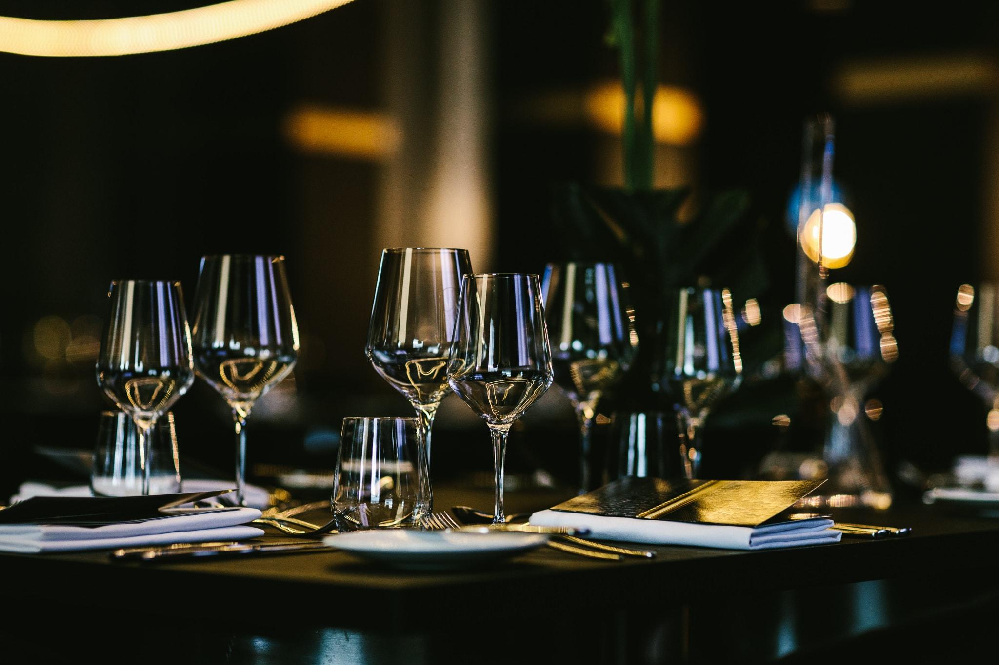 wine glasses - luxury