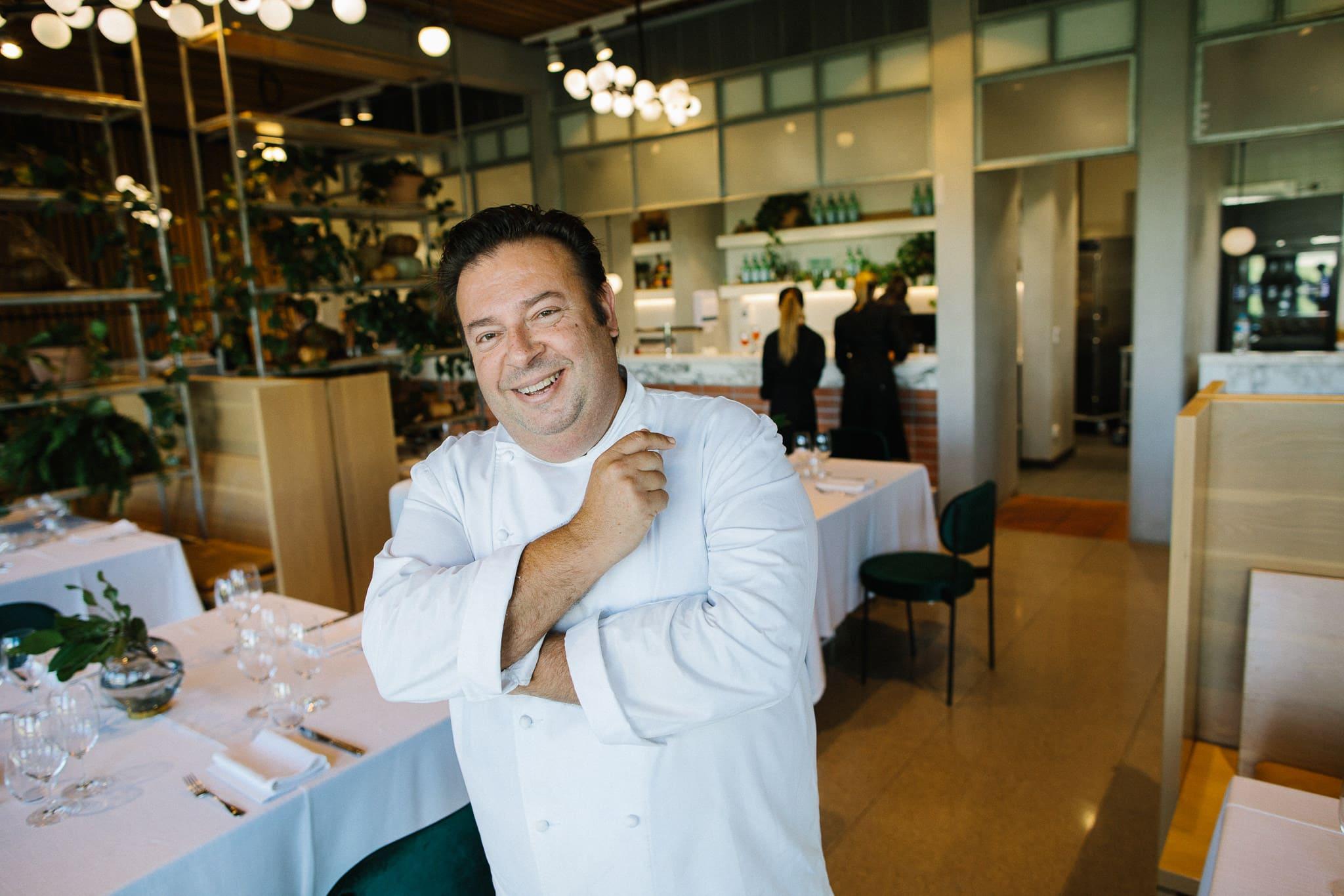 portrait of restaurant chefs