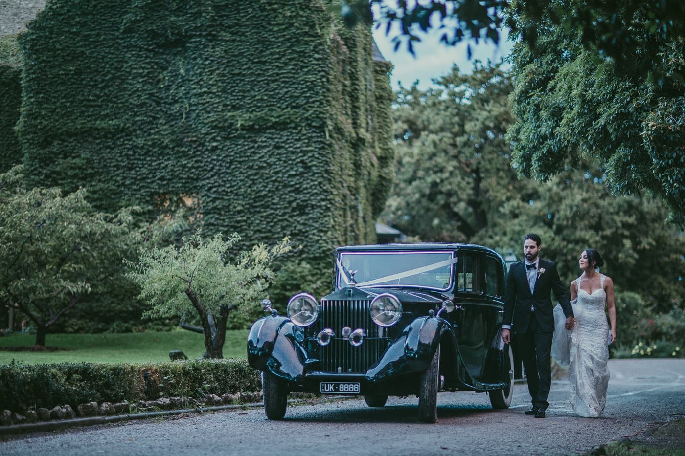 luxury weddings in melbourne - high end cars and photography