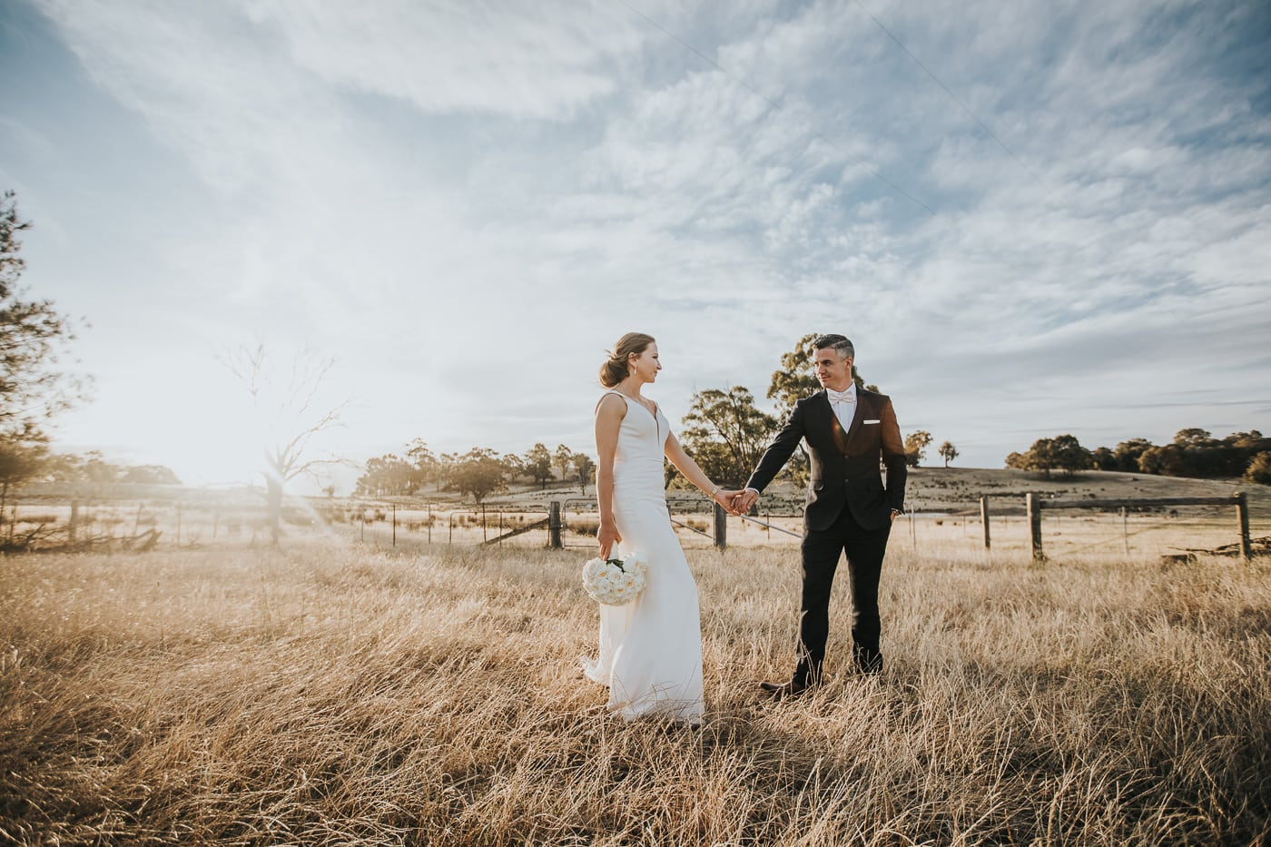 sunset wedding photography in melbourne - best wedding photos in Melbourne