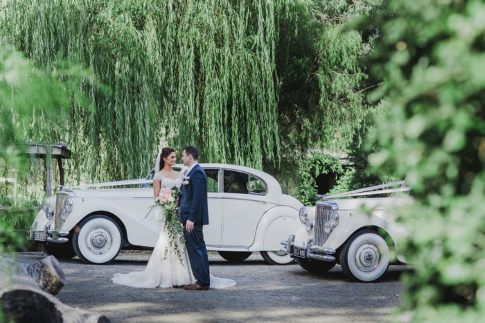 wedding photographer captures luxury cars at weddings in melbourne