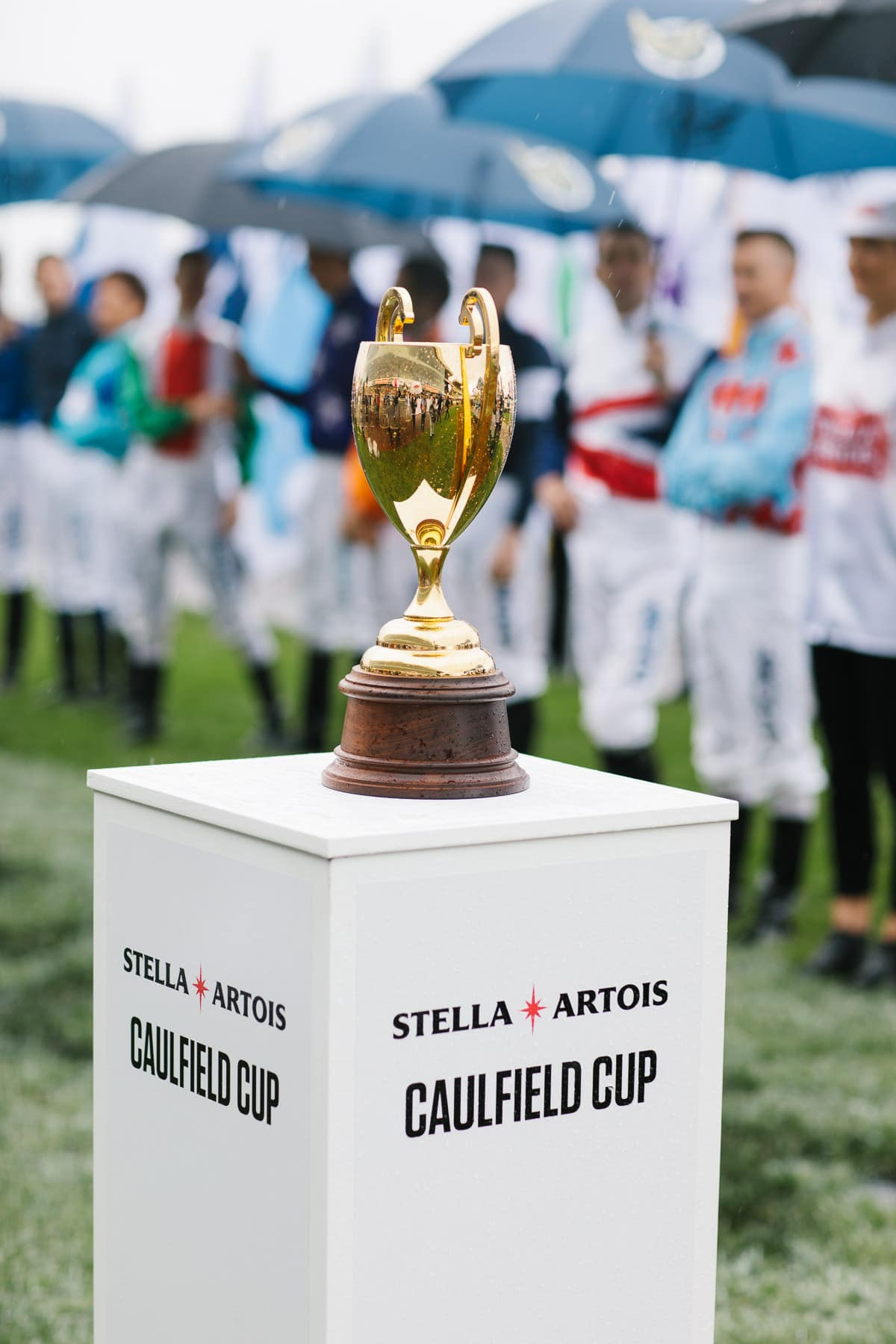 Picture of the Trophy of the Caulfield Cup