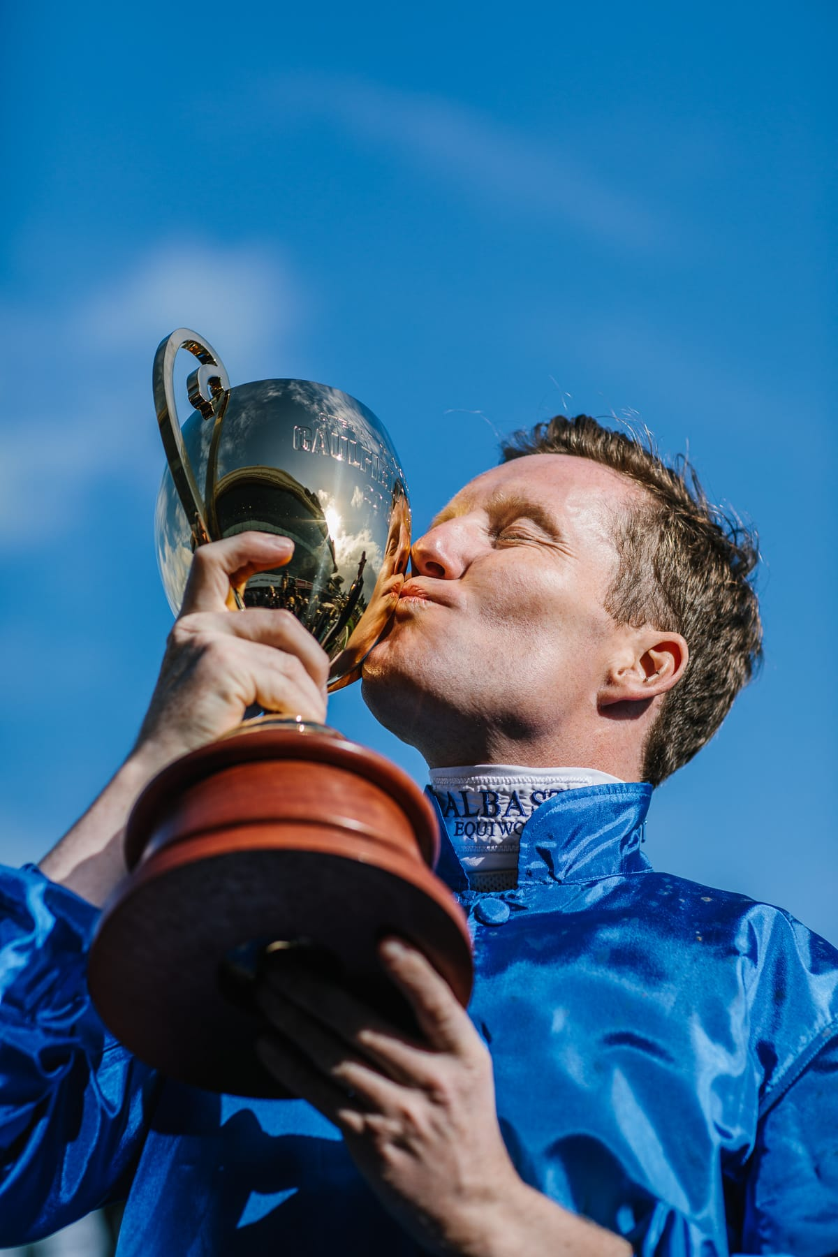 Photo of the winning jockey of the Caulfield Cup - Must have photos