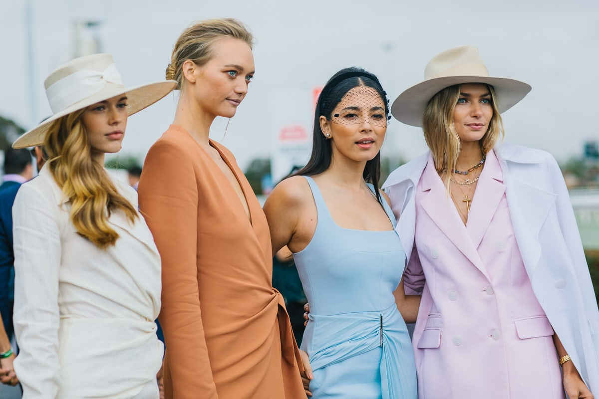 Models at Melbourne Event - Phoitographer captures the atmosphere and style of corporate event
