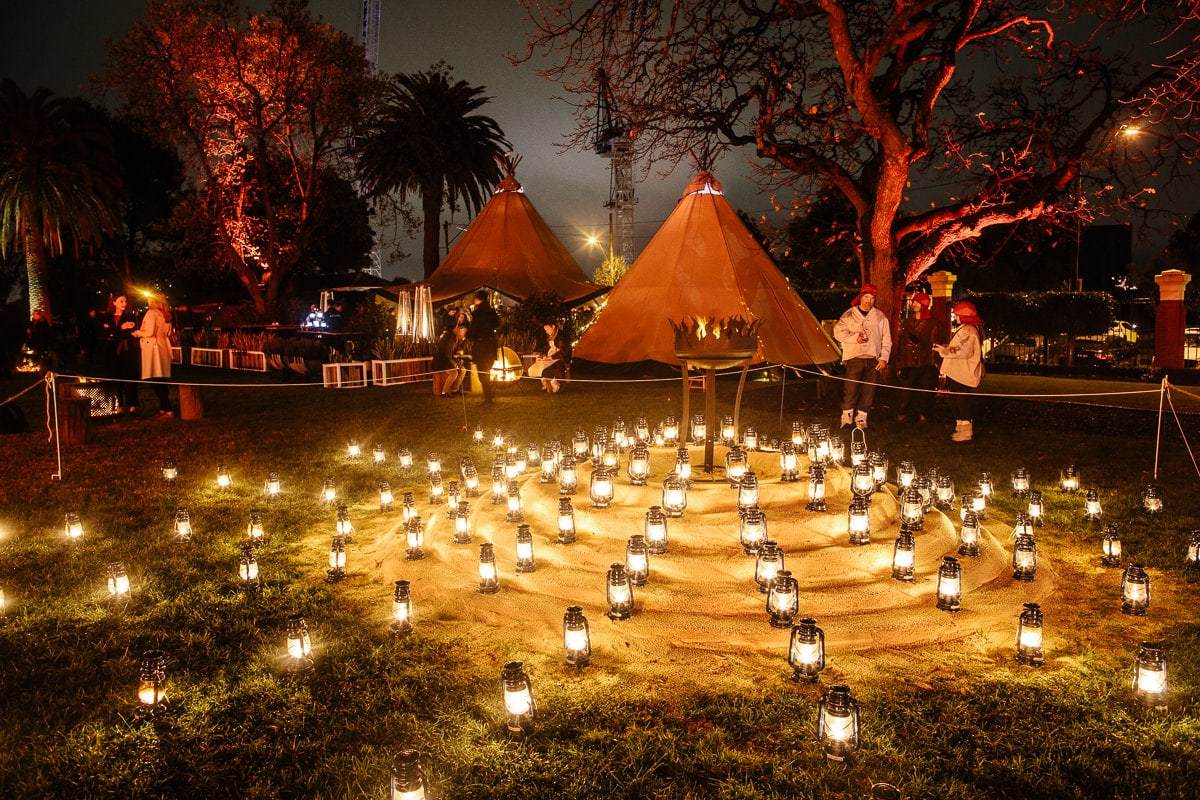 tipee night event melbourne