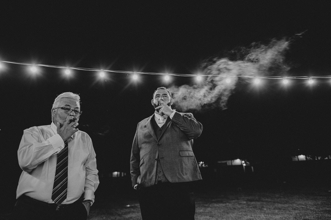 cigars on wedding day