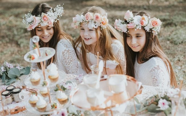 small business photography - kids party buiness promoted with styled photoshoot - images for your business